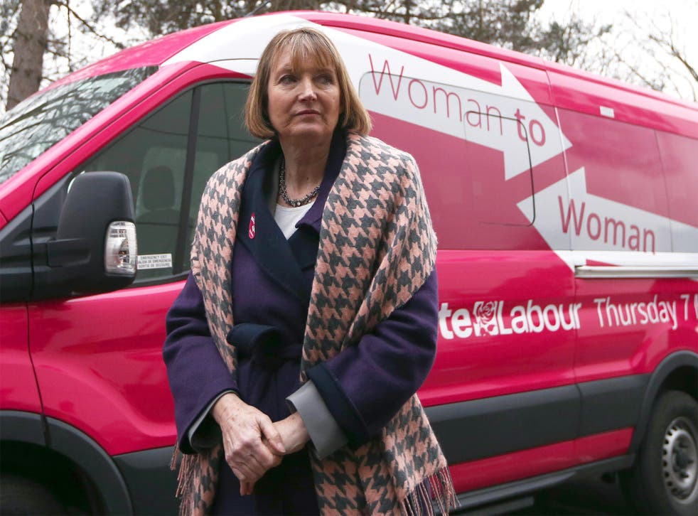 Harriet Harman, the deputy Labour leader, said she thought the bus was 'very eye-catching'