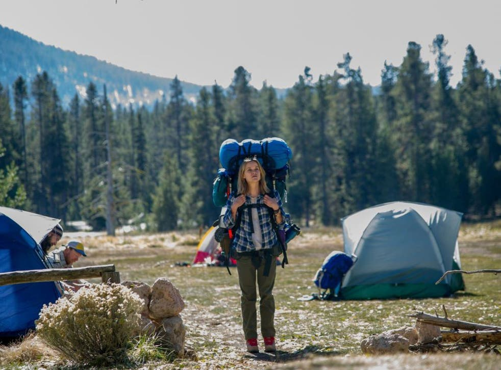 Self-revelations: Reese Witherspoon in the film of the memoir 'Wild'