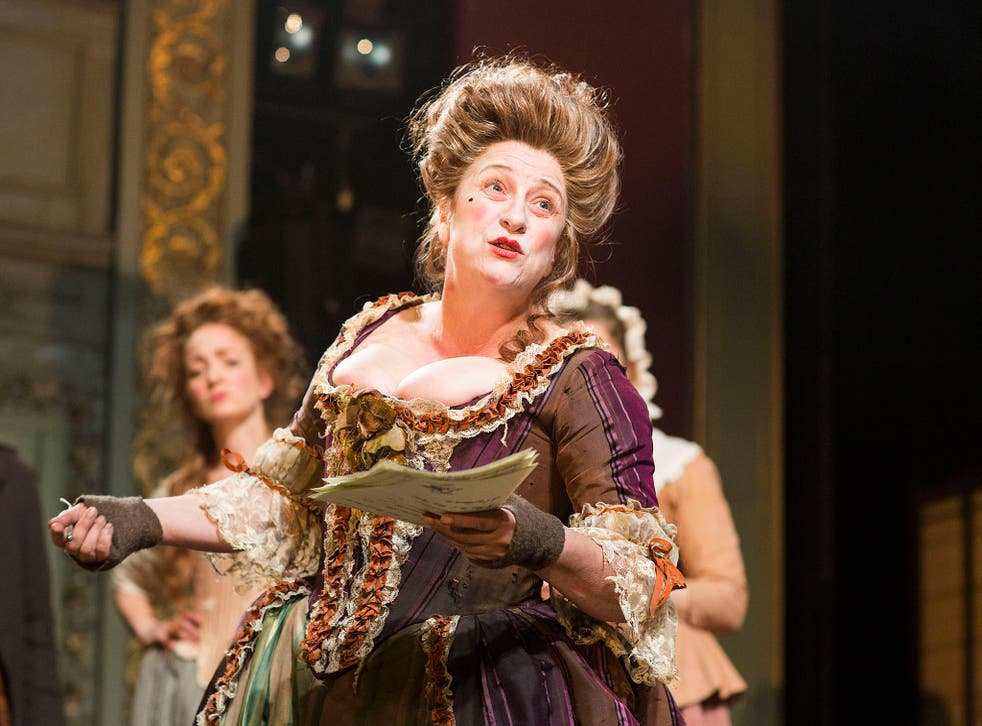 Caroline Quentin in The Life and Times of Fanny Hill