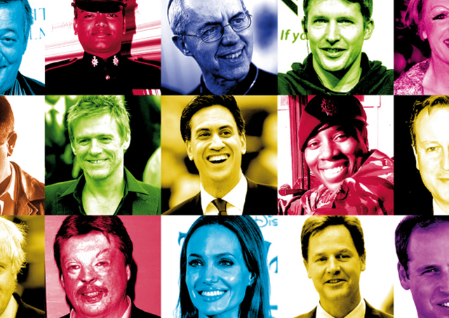 Some of the famous faces who have backed our Homeless Veterans campaign