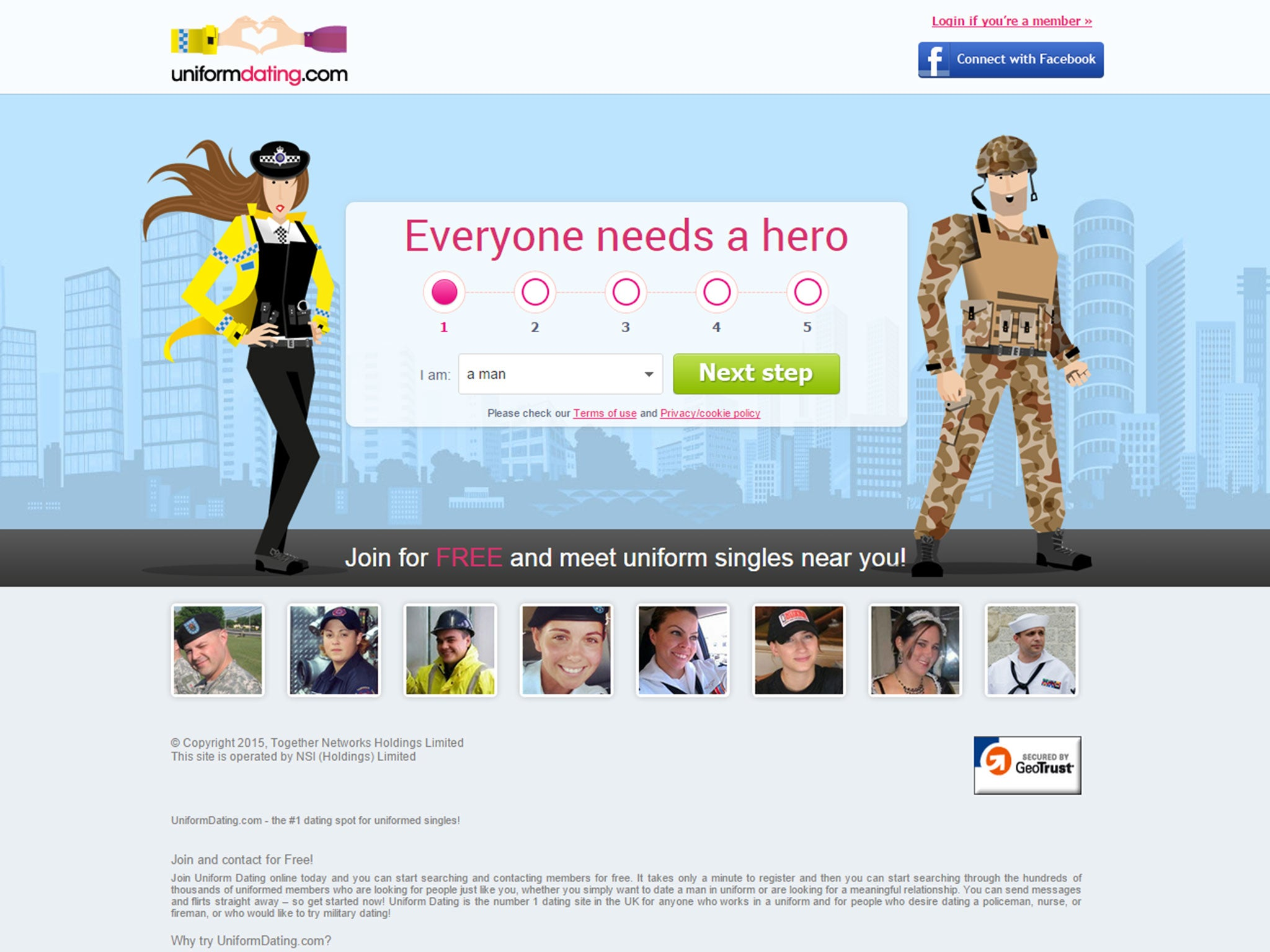 uniform dating voucher code 2014 dating site profiel foto tips