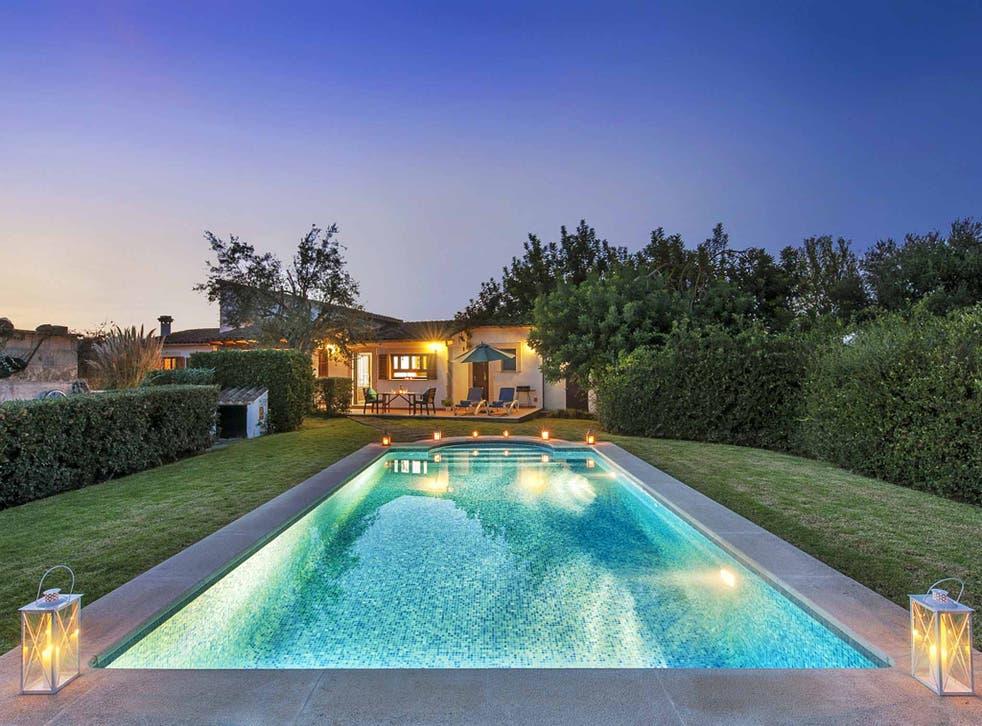 Villa Ca'n Bobis, Mallorca: This romantic one-bed villa is tucked away in a lush private garden in the heart of Mallorca's Pollença countryside