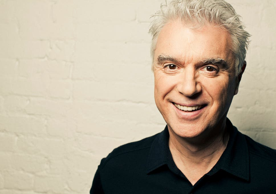 David Byrne regrets not working with women on his new album