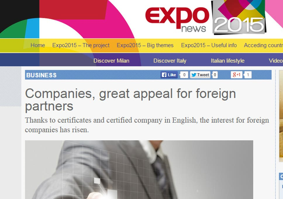 Expo 2015 'Google Translate' scandal: World fair organisers