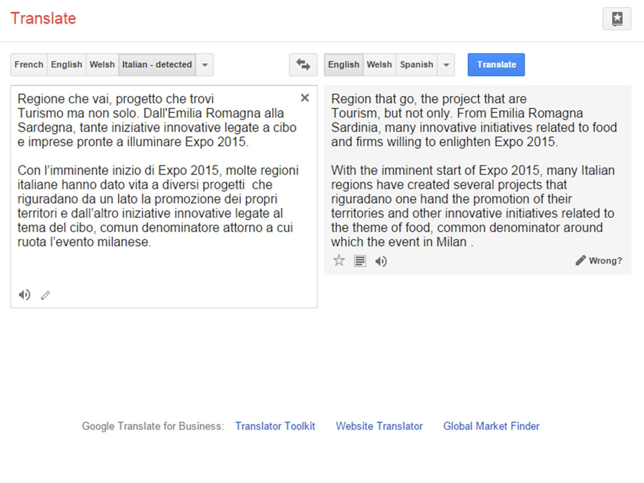 Expo 2015 'Google Translate' scandal: World fair organisers