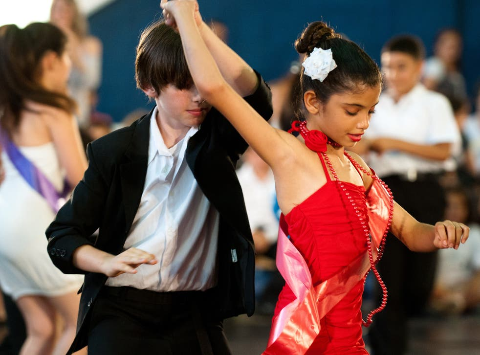 Uplifting: Dulaine uses dance classes for kids as a tool for reconciliation