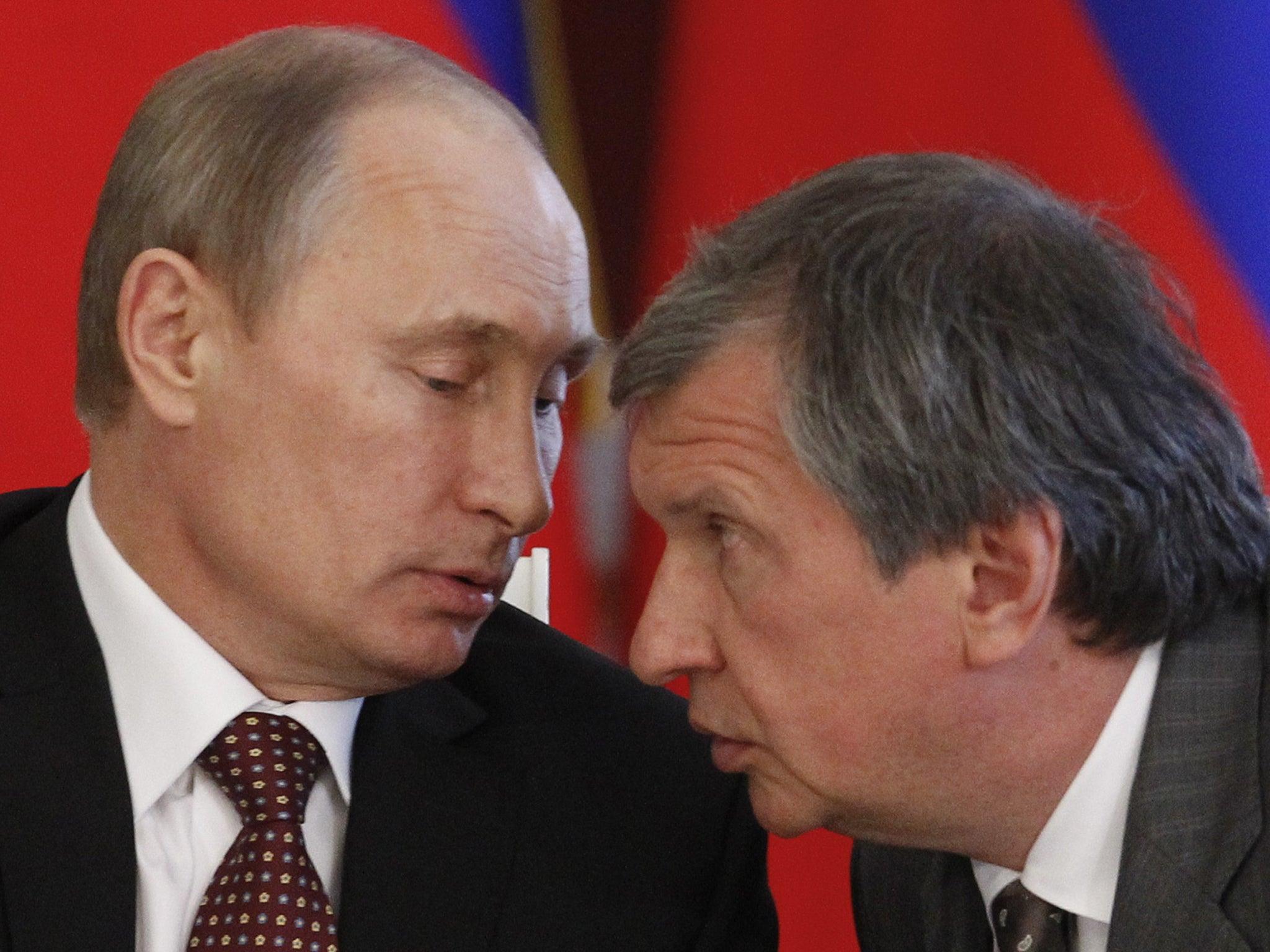 Image result for Igor Sechin, photos