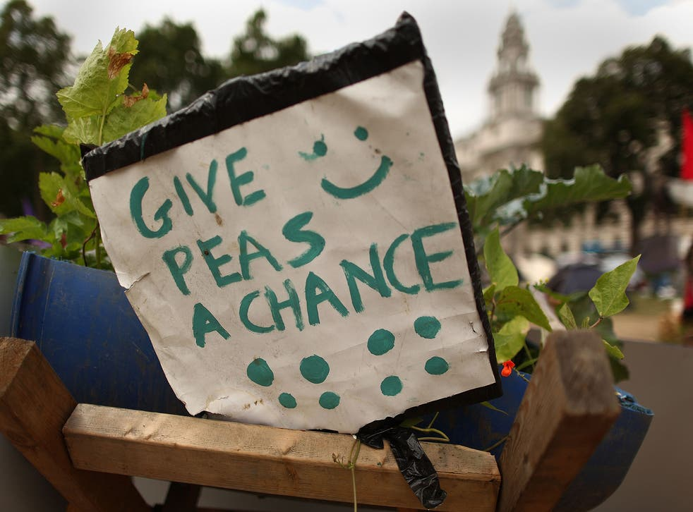 Give Peas a Chance?