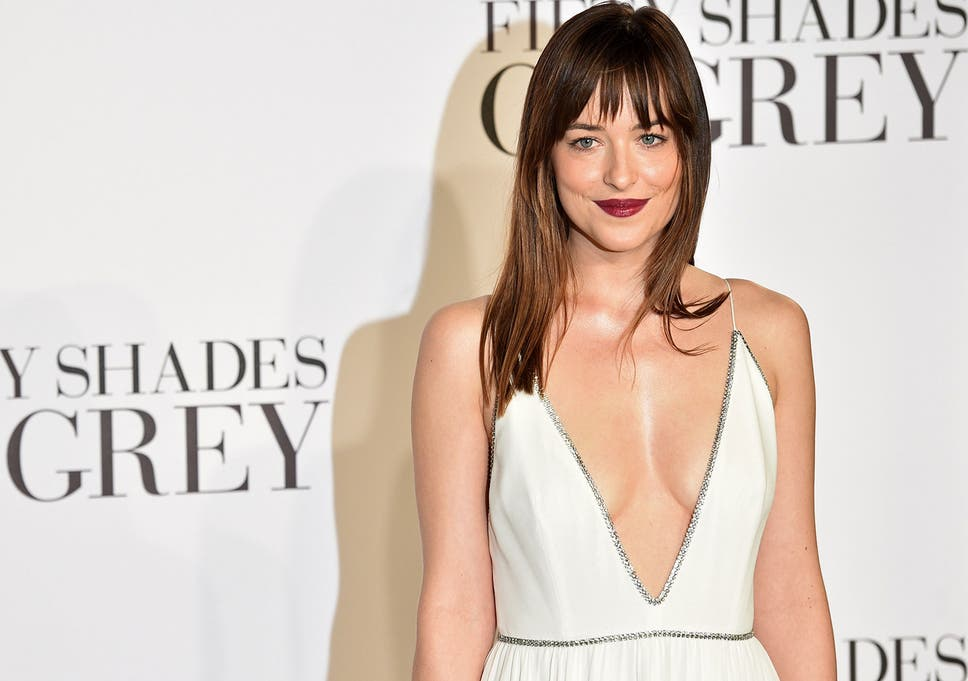 Dakota Johnson Attends The Fifty Shades Of Grey London Premiere