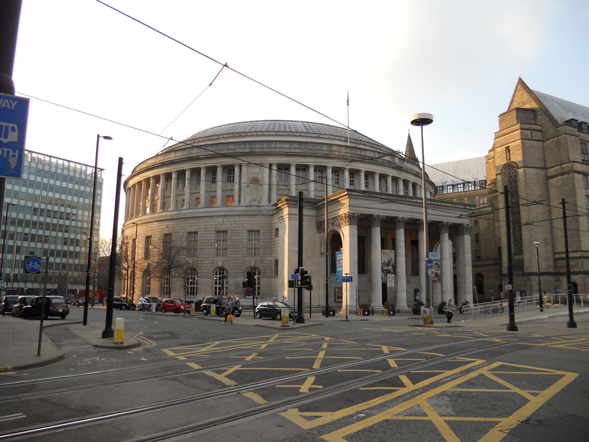 Manchester Central Library Fears that tens of thousands of books