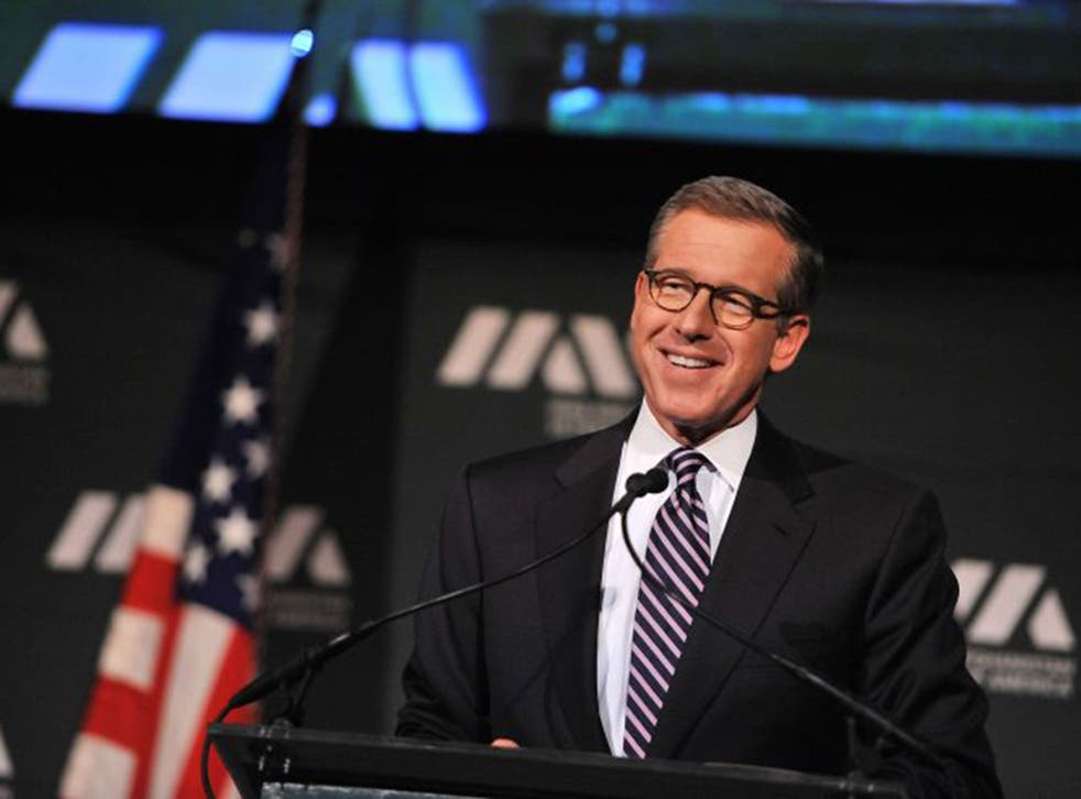 Brian Williams was suspended for six months by NBC (Getty)