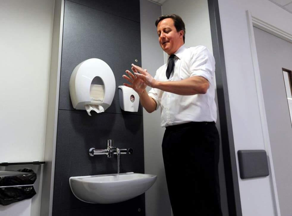 David Cameron's deep-clean policy was disliked by professionals