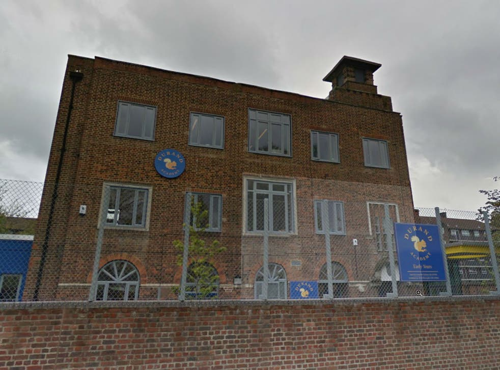 The Durand Academy in Stockwell, south London is one of the 4,400 academies under scrutiny