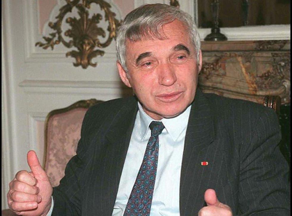 Zhelyu Zhelev was Bulgaria's first democratically elected head of state
