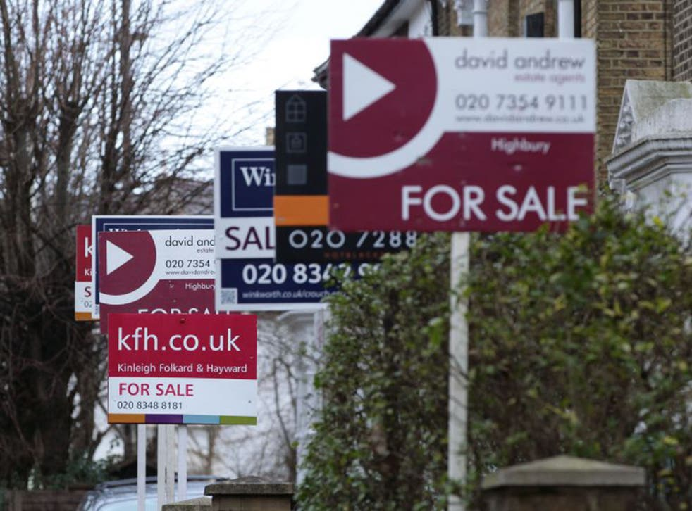 January data from the Land Registry shows that at today's prices, first time buyers would only be able to get a deposit on a home in the parts of the North and Wales.