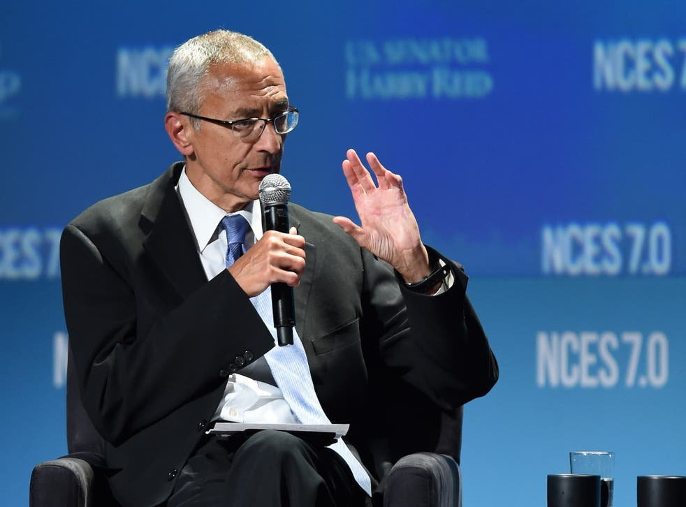White House aide John Podesta has long argued for release of government files on UFOs