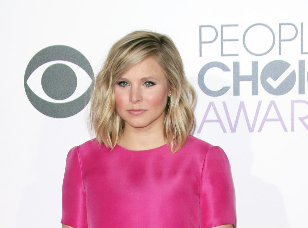 Kristen Bell at the People's Choice Awards, 2015