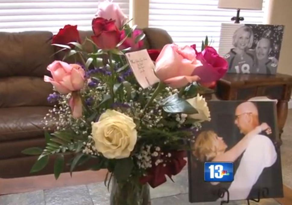 Husband arranges for wife to receive flowers every valentines day the flowers shelley received on valentines day mightylinksfo