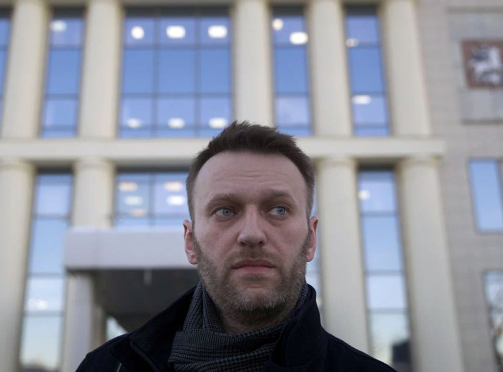 Alexei Navalny, who has been drawing attention to money laundering practices through campaigning