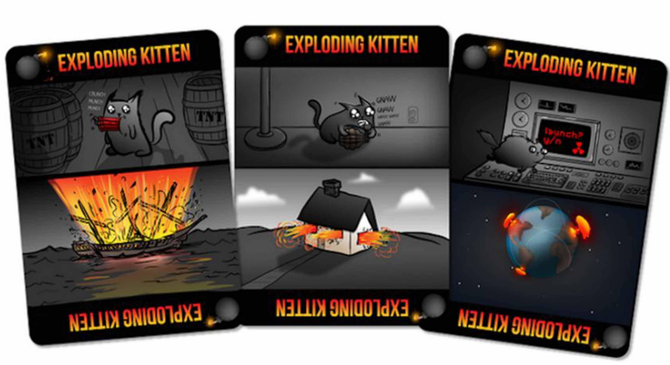 Exploding Kittens A Highly Strategic Kitty Powered Version Of