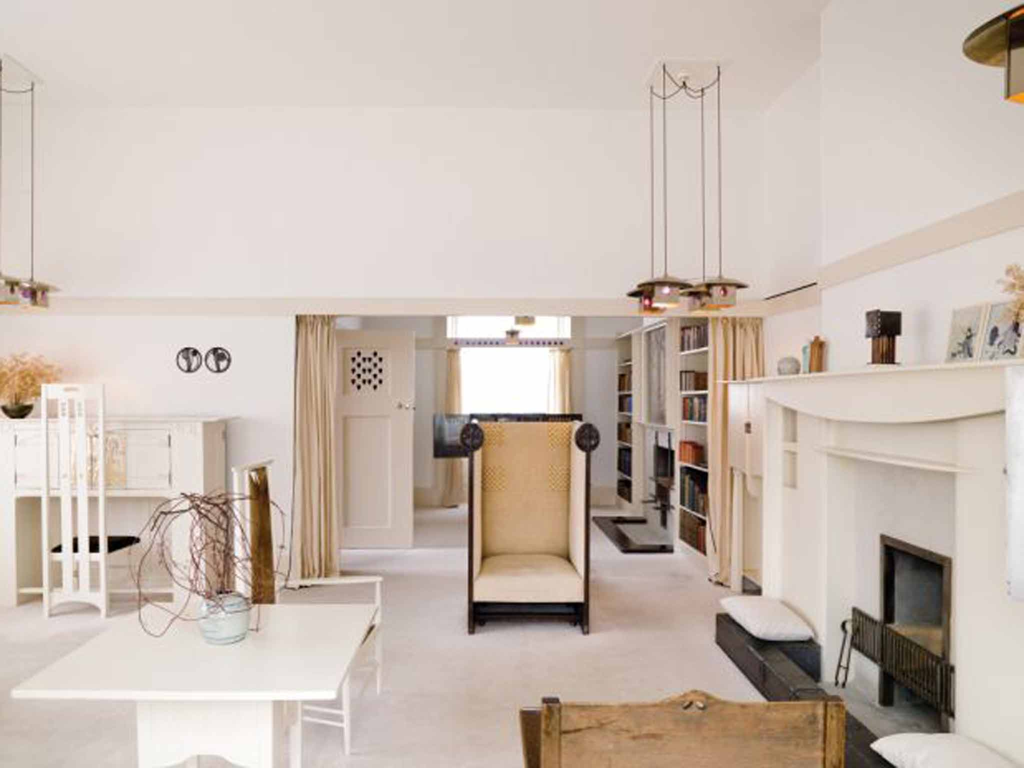 Charles rennie mackintosh explore the world of scotland 39 s for Designer room glasgow