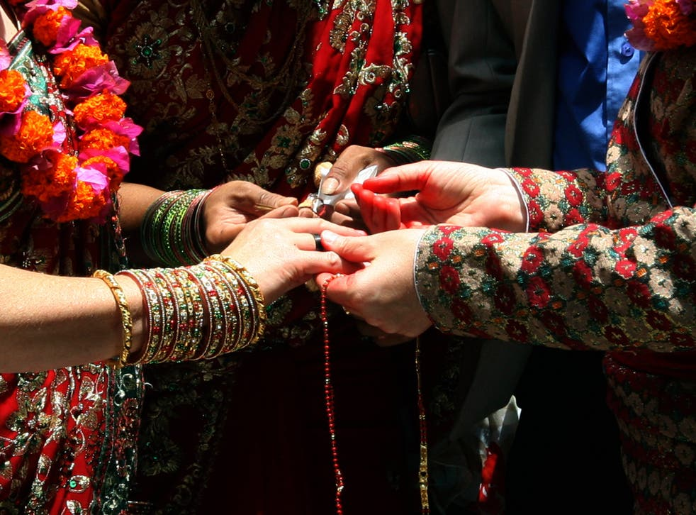 In 2011 a US Lesbian couple performed traditional Nepalese Hindu wedding rituals in a service on the outskirts of Kathmandu