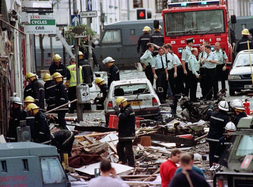 Seamus Daly is accused of killing 29 people in the 1998 Omagh bombing
