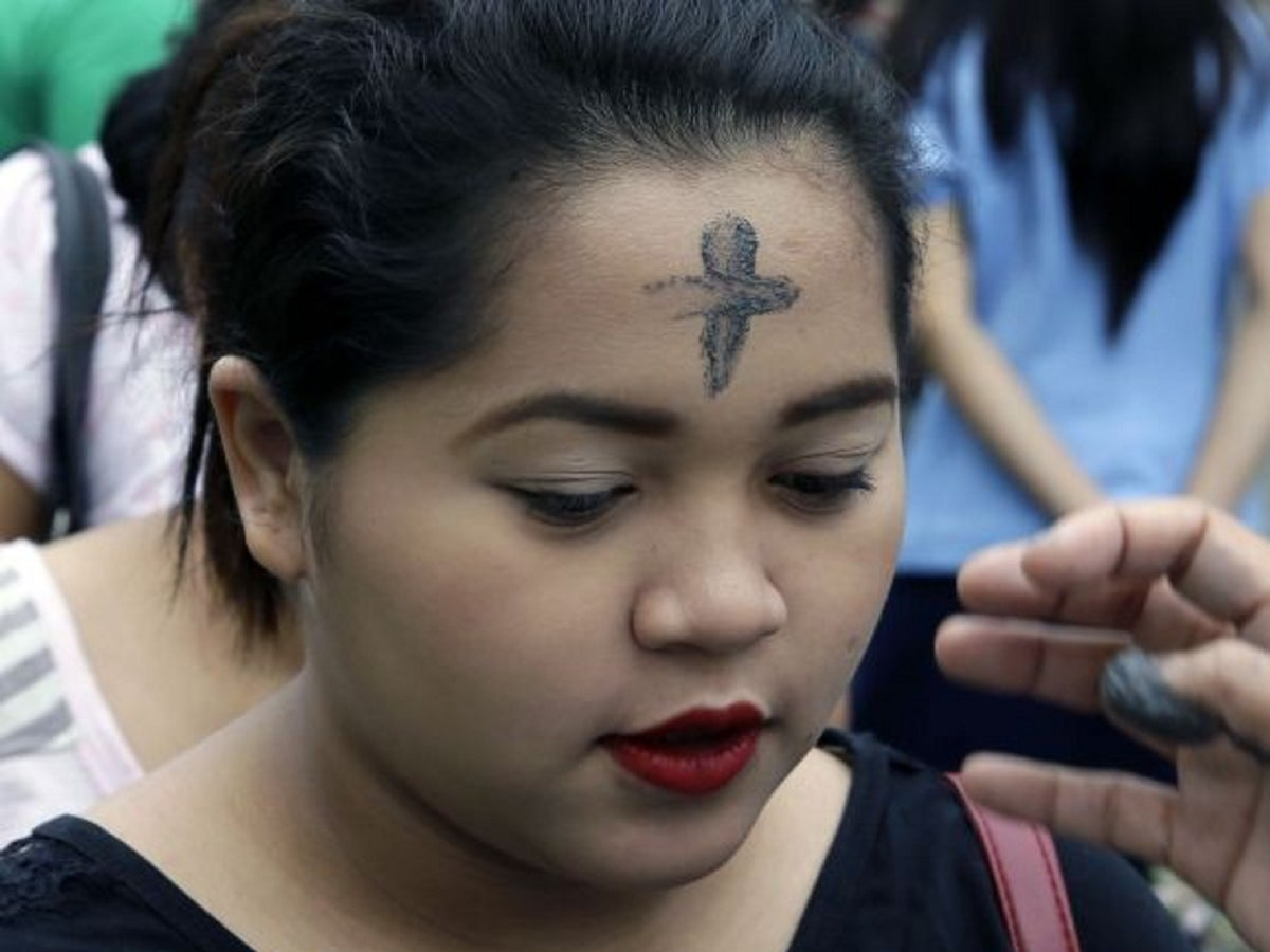 Ash Wednesday 5 Things You Might Not Know About Lent The Independent The Independent