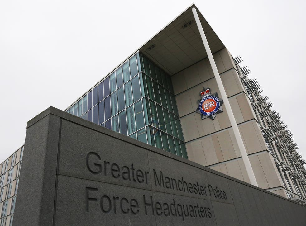 The headquarters of Greater Manchester Police, where officers have forced to work on paper
