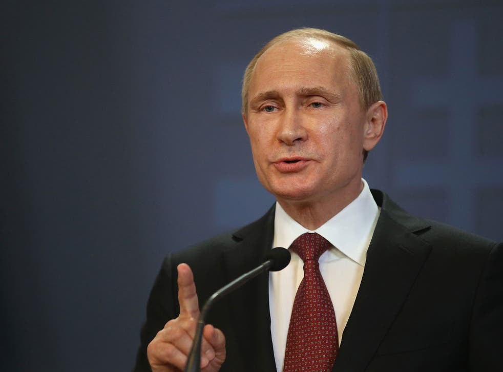 Mr Putin says the currency would help member states' economies