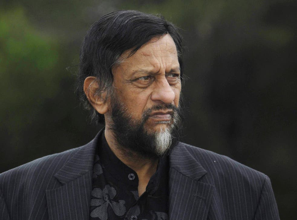 Rajendra Pachauri said he had been a victim of hacking