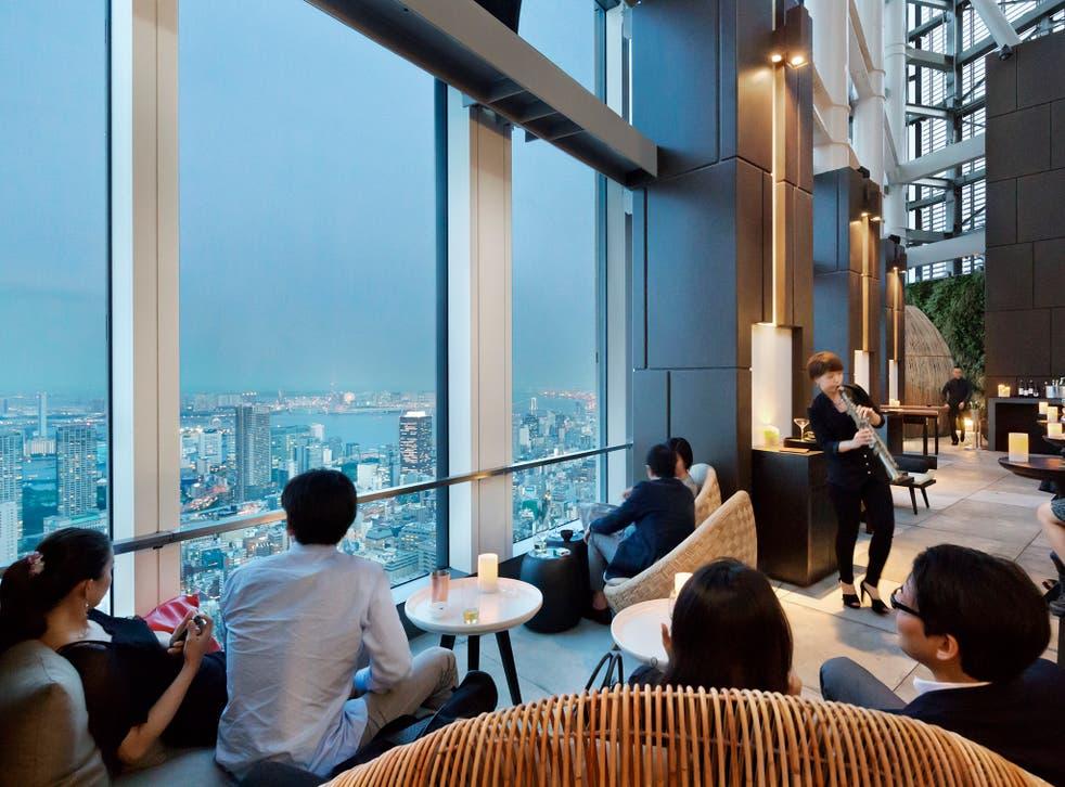 Andaz Hotel Tokyo, Rooftop Bar Terrace