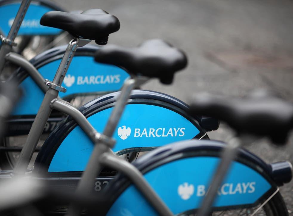 "The cyclist had been riding a public-hire ""Boris bike"""