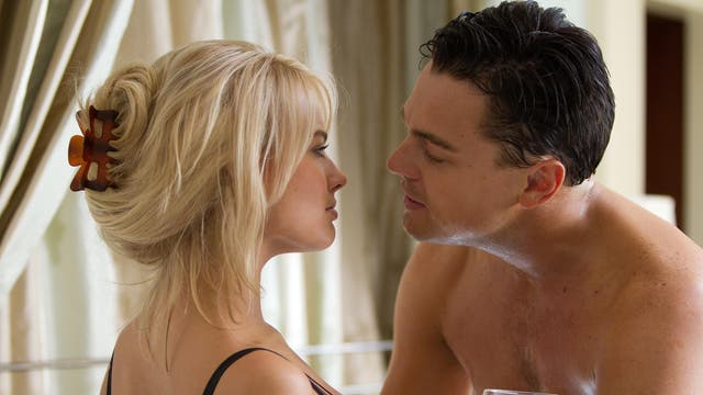 """The actor says that acting in the scene where she has sex with Leonardo DiCaprio on a bed of money was really painful in The Wolf of Wall Street. """"I got a million paper cuts on my back from all that money! It's not as glamorous as it sounds,"""" she said. """"If anyone is ever planning on having sex on top of a pile of cash: don't. Or maybe real money is a bit softer, but the fake money is like paper, and when I got up off the bed, I turned around to get my robe and everyone gasped. I said, 'What is it?' And they said, 'You look like you've been whipped a million times. Your back is covered in a thousand red scratches."""""""