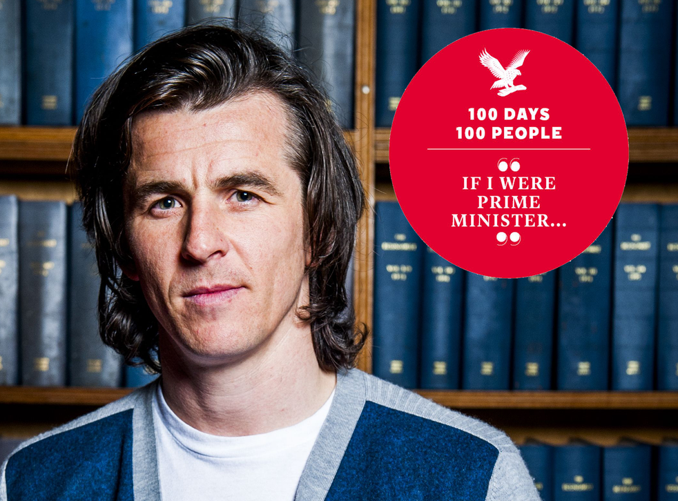 Joey Barton at the Oxford Union
