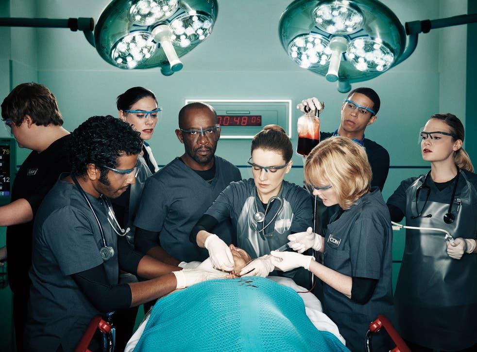The trauma team in Critical