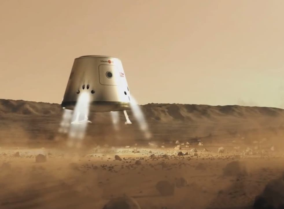 A shortlist of 100 volunteers for a televised one-way mission to the Red Planet.