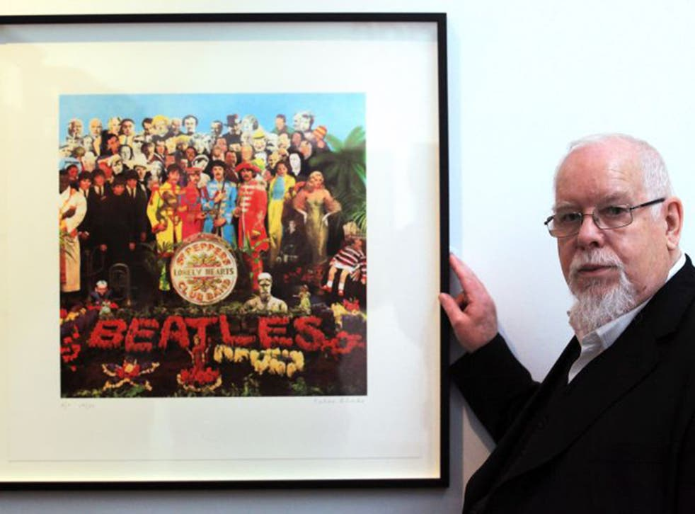 Perhaps PeterBlake's best known work is the cover of the Beatles' Sgt Pepper album