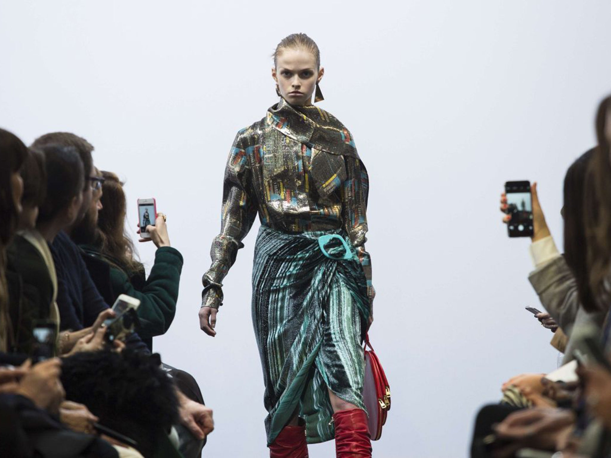 Dreams Of Empire At London Fashion Week New Generation Of Young Designers Fights It Out The Independent