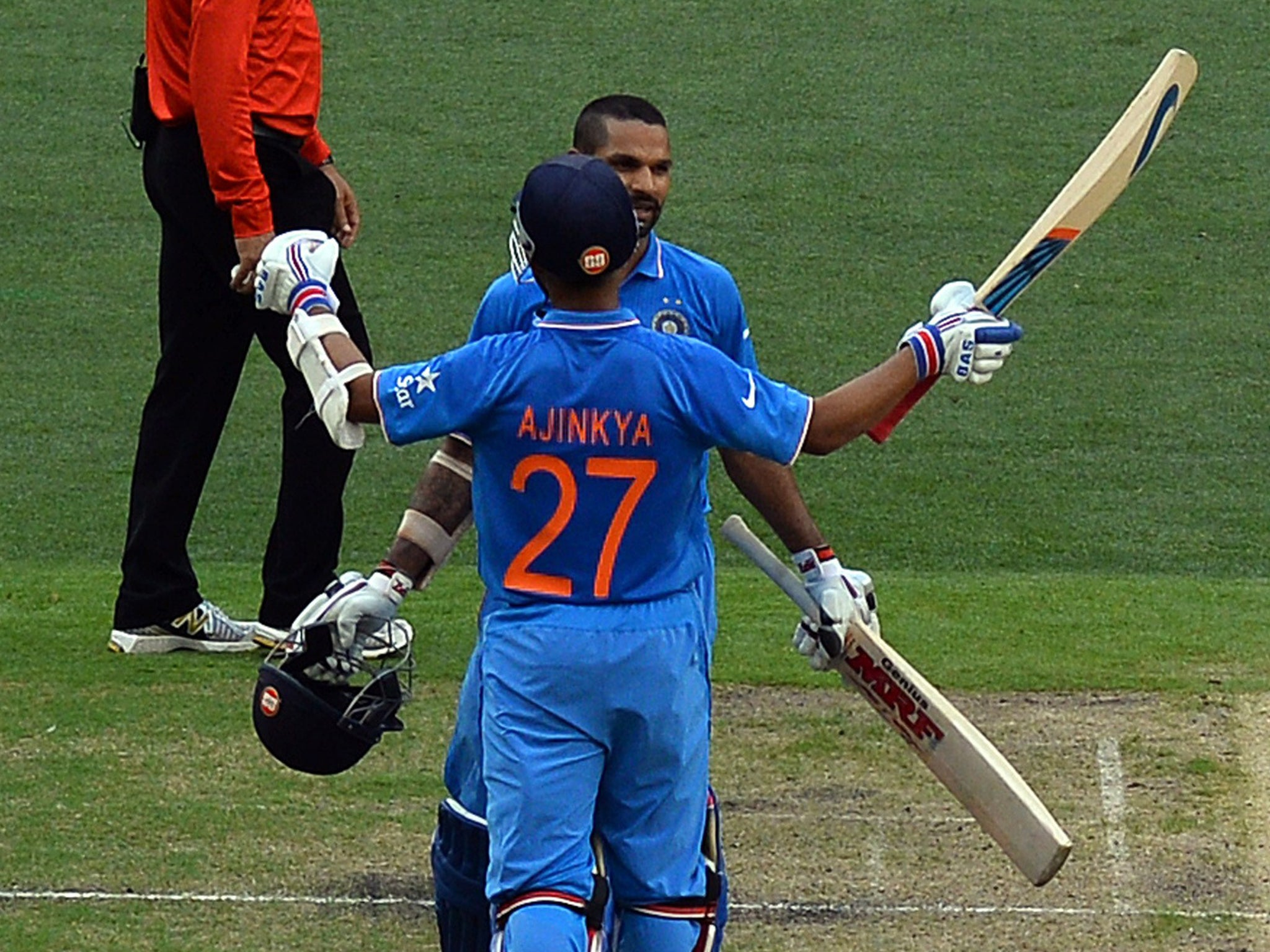 Cricket World Cup 2015 Shikhar Dhawan Century For India Embarrasses South Africa The