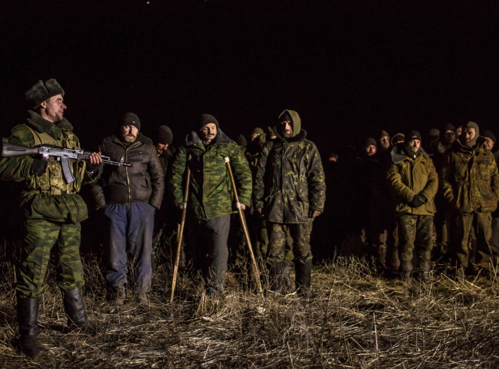 Rebels and Ukrainian forces exchanged prisoners