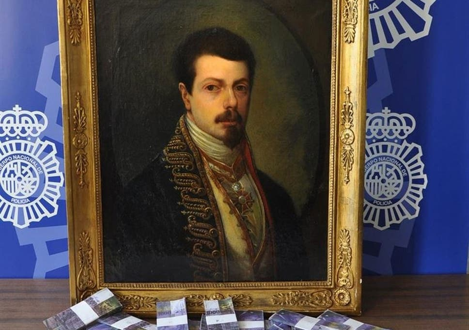 The painting and the 'loot': 1.7m counterfeit Swiss Francs
