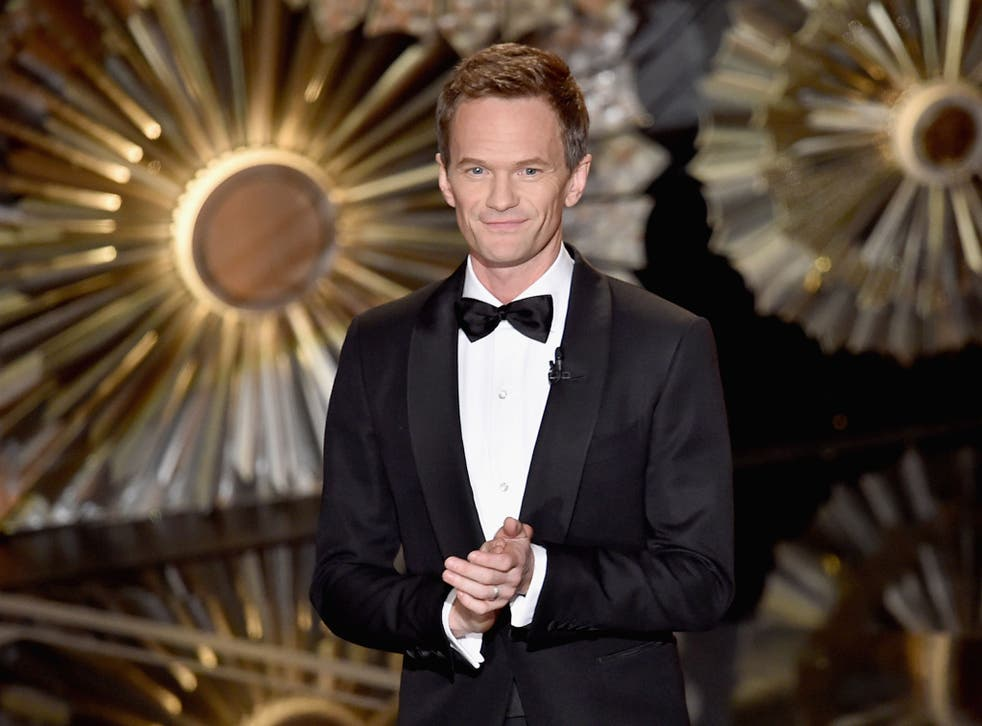Neil Patrick Harris presenting the 87th annual Academy Awards