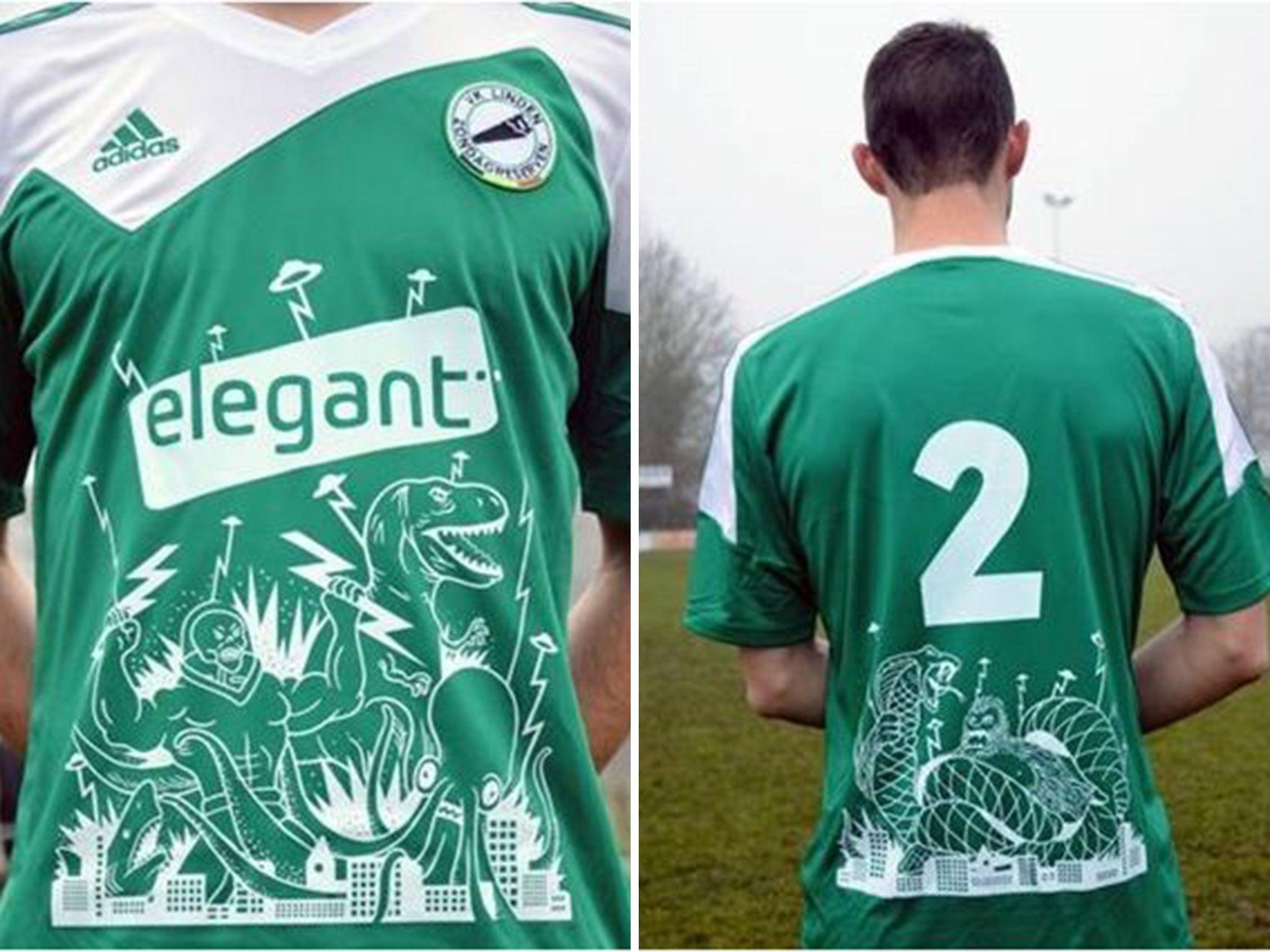 belgian sunday league team vk linden have brilliant shirts belgian sunday league team vk linden have brilliant shirts designed by cartoonist jeroom snelders the independent