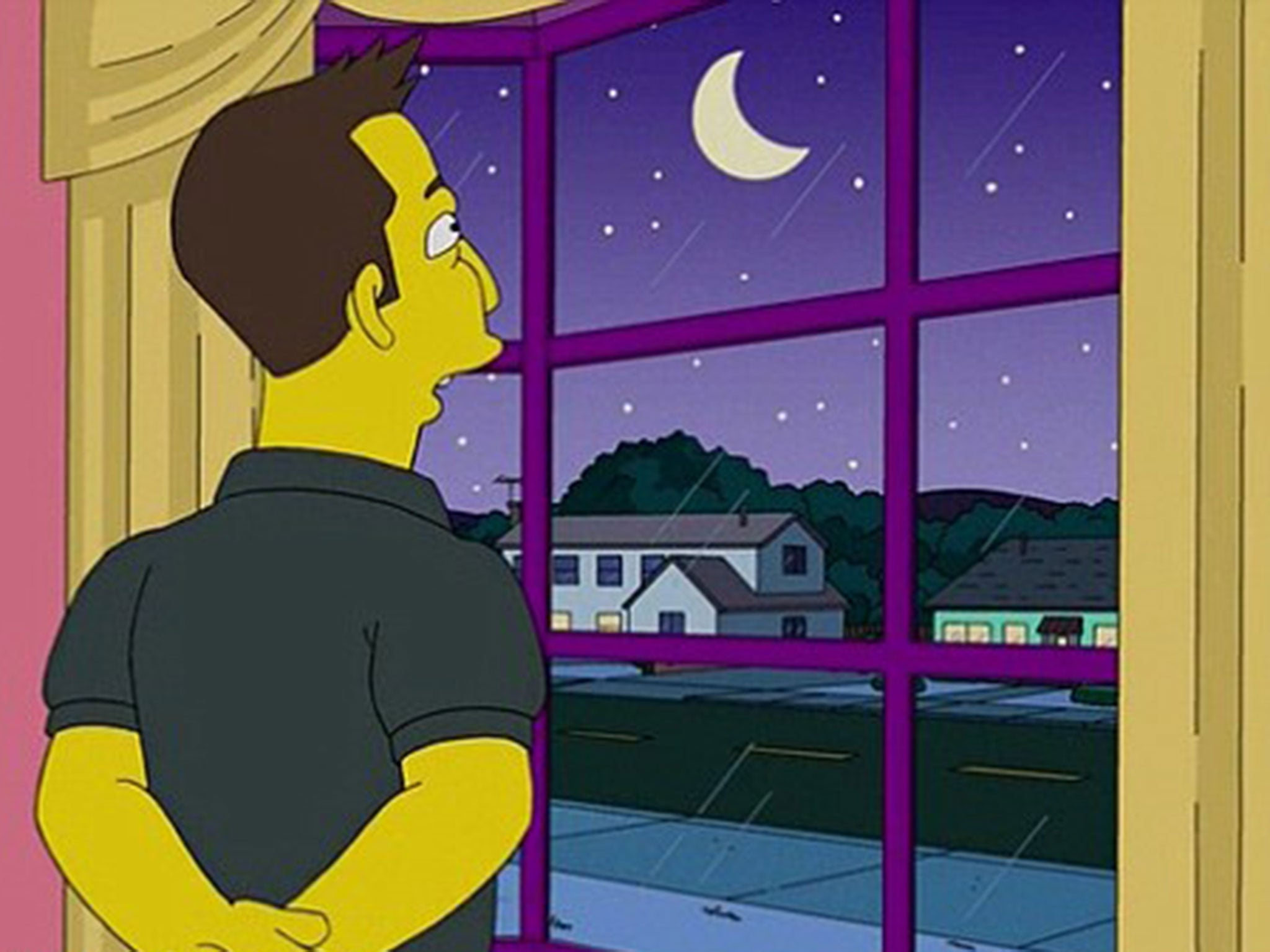 The Simpsons might not be set in America after all - just take a look at that moon
