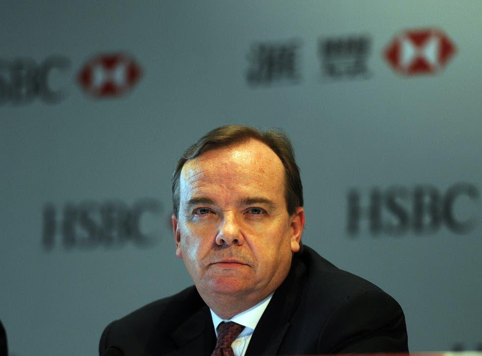 Stuart Gulliver, HSBC's chief executive
