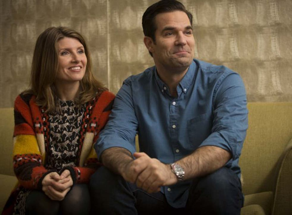 Sharon Horgan and Rob Delaney star in Catastrophe