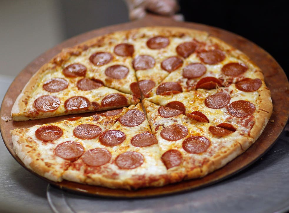 German vans have reportedly been delivering up to 60 pizzas at one time to Swiss customers