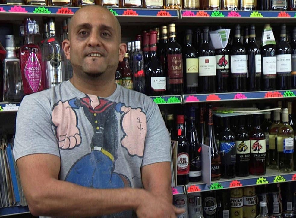 Community spirit: Raj featured in 'Immigration Street'