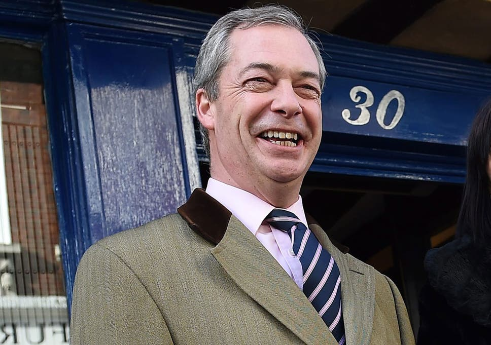 46701af8487e Nigel Farage promises Ukip will not  stigmatise  would-be migrants ...